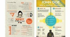 Curriculum Vitae para Diseñador Gráfico