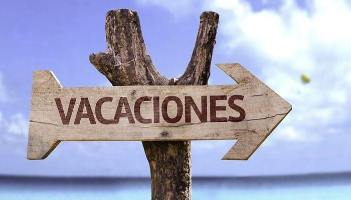 solicitud de vacaciones