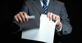 Carta Rescisión Contrato Mercantil