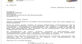 Características de una carta formal
